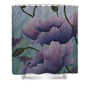 Growing Rains Shower Curtain