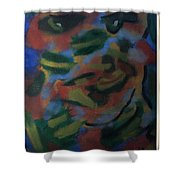Growing The Algae Monkey Not On Trees Shower Curtain