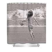 Growing Young Shower Curtain