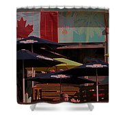 Growling Gator Canada 150 Two Shower Curtain