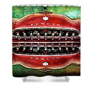 Growling Grill Shower Curtain