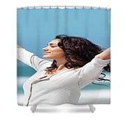 Grs Ultra  Shower Curtain