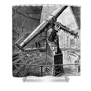 Grubb Refractor Telescope, Vienna, 1881 Shower Curtain