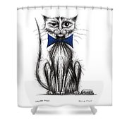 Grubby Paws Shower Curtain