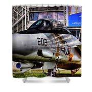 Grumman F-14a Tomcat Shower Curtain