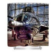 Grumman F9f-8 F-9j Cougar Shower Curtain