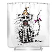 Grumpy George Shower Curtain