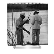 Grumpy Old Men Shower Curtain