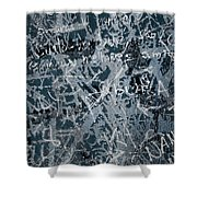 Grunge Background I Shower Curtain