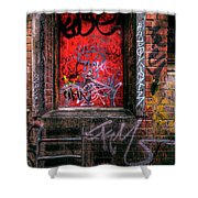 Grunge Junkies Unite Shower Curtain
