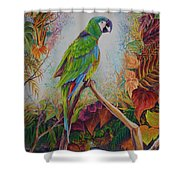 Guacamayo Shower Curtain