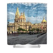 Guadalajara Cathedral Shower Curtain