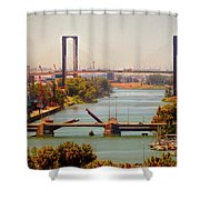 Guadalquivir River Shower Curtain