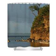 Guam- Keeping Watch Shower Curtain
