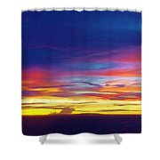 Guam Sunrise I 10/2015 Shower Curtain