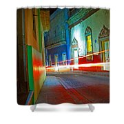 Guanajuato Night Shower Curtain