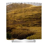Guanella Pass Autumn Day I Shower Curtain