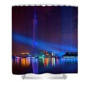 Guangzhou Tv Tower 1 Shower Curtain
