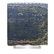 Guaraguao Shower Curtain