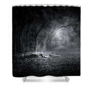 Guardian Of The Forest II Shower Curtain