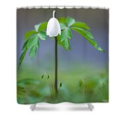Guardian Of The Small Things Shower Curtain