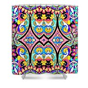 Guardian's Eyes Shower Curtain