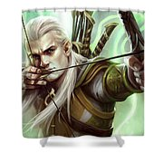 Guardians Of Middle-earth Shower Curtain