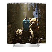 Guardians Of The Galaxy Vol. 2 Shower Curtain