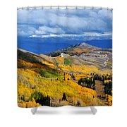 Guardsman Pass Autumn Color Shower Curtain