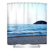 Guayabitos 4 Shower Curtain