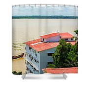 Guayaquil River View Shower Curtain