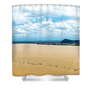Guayas River View Shower Curtain