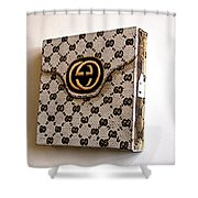 Gucci Bag Shower Curtain