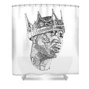Gucci Mane Shower Curtain