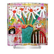 Guess Who Is Coming To Dinner Shower Curtain