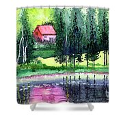 Guest House Shower Curtain