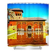 Guest House At The Alhambra Shower Curtain