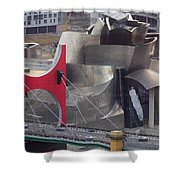 Guggenheim Bilbao Museum IIi Shower Curtain