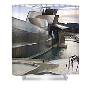 Guggenheim Bilbao Museum Shower Curtain