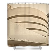 Guggenheim Museum Shower Curtain