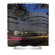 Guggenheim Museum New York  Shower Curtain