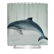 Guiana River Dolphin Shower Curtain