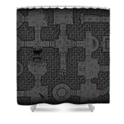Guild Of Dungeoneering Shower Curtain