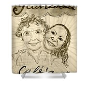 Guinevere's Cafe And Bistro Shower Curtain
