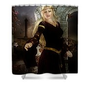 Guinevere's Tears Shower Curtain by Mary Hood