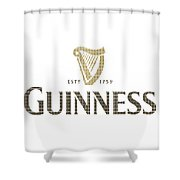 Guinness Shower Curtain