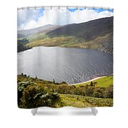 Guinness Lake In Wicklow Mountains  Ireland Shower Curtain