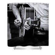 Guitar 2016 Shower Curtain
