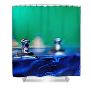 Guitar Abstract 7 Shower Curtain