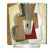 Guitar, By Pablo Picasso, 1919, Kroller-muller Museum, Hoge Velu Shower Curtain